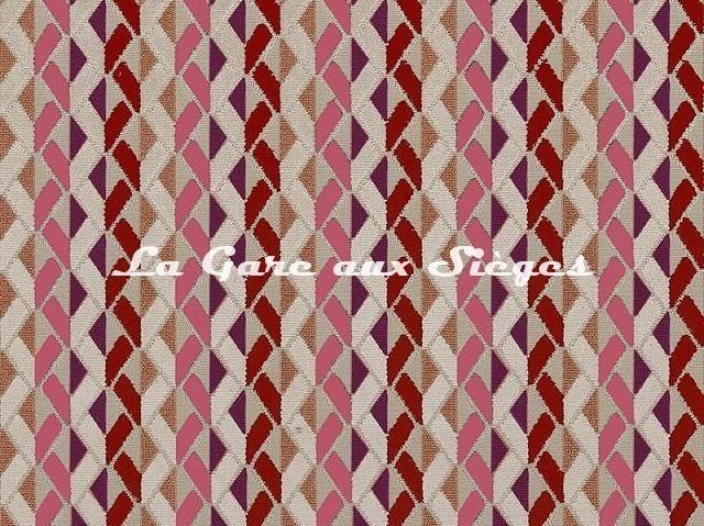 Tissu Camengo - Enchanteur - réf: 4179.0673 Rouge - Voir en grand