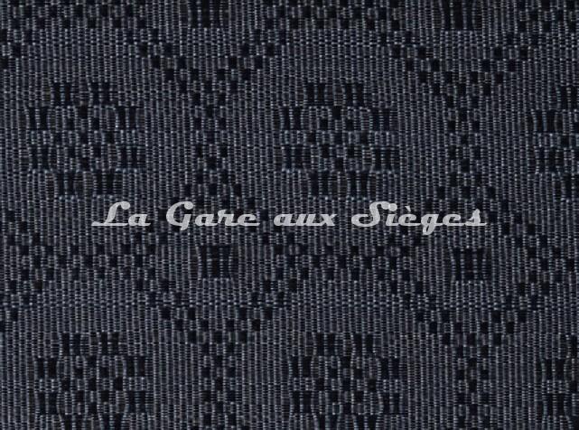 Tissu Le Crin - Gaël 30 - réf: C0030 - Coloris: 027 Bleu Noir - Voir en grand