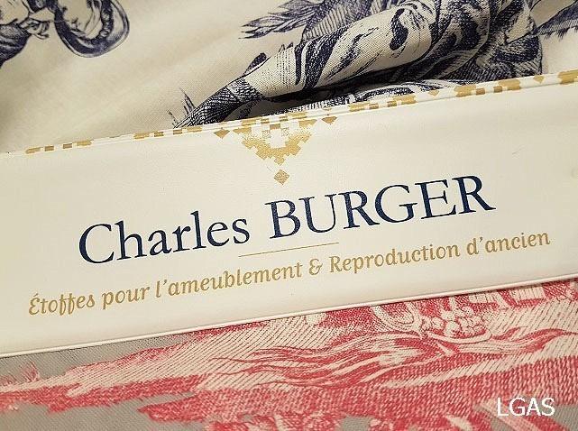 Tissus d'ameublement Charles Burger - La Gare aux Sièges - Voir en grand
