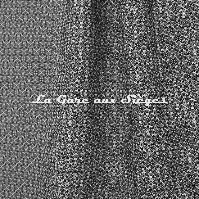Tissu Jean Paul Gaultier - Optic - réf: 3494.06 Noir - Voir en grand