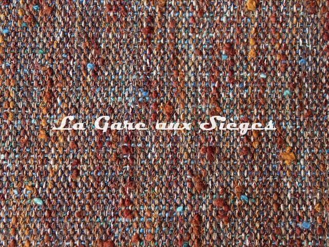 Tissu Dominique Kieffer - Tweed Couleurs - réf: 17224-14 - Coloris: Fiordo cuivre - Voir en grand
