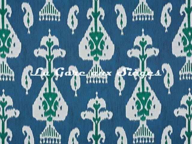Tissu Pierre Frey - Astara - réf: F3455.002 Bleu - Voir en grand