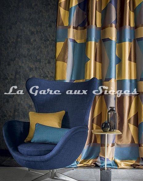 Tissu Casamance - Fantasque - Voir en grand
