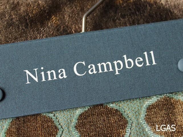 Tissus Nina Campbell - La Gare aux Sièges - Voir en grand