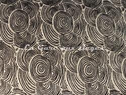 Tissu Deschemaker - Helsinki - réf: 103888 - Coloris: Ebène - Voir en grand