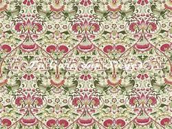 Tissu William Morris - Lodden - réf: 222524 Rose/Thyme - Voir en grand