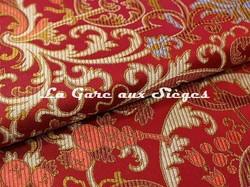 Tissu Tassinari & Châtel - Cernuschi - réf: 1655.01 Rouge - Voir en grand