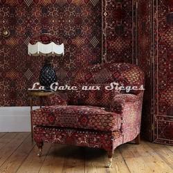 Tissu House of Hackney - Velours Mey Meh - Voir en grand