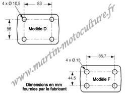 Crochet d'attelage mixte modéle D et F POMMIER 295071 www.martin-motoculture.fr - Voir en grand