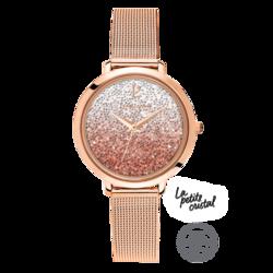Montre cristal rose 108G958 139¤ - Voir en grand