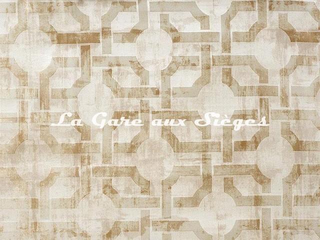 Tissu Camengo - Beauregard - réf: 4138.0285 Beige - Voir en grand