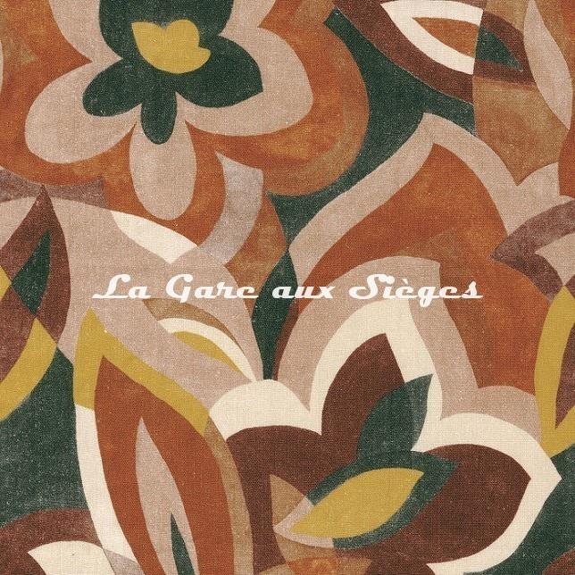 Tissu Misia - Le jardin de Cézanne - réf: M280.702 Arabesque - Voir en grand