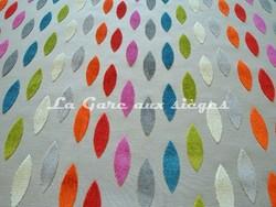 Tissu Deschemaker - Velours Mexico - réf: 103757 - Coloris: Multicolore - Voir en grand