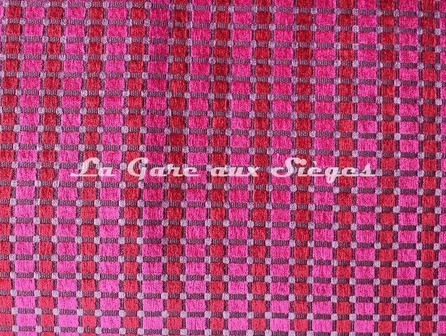Tissu Casal - Dompteur - réf: 16188 - Coloris: 9297 Fuchsia Violine - Voir en grand