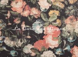 Tissu House of Hackney - Midnight Garden lin/viscose - Coloris: Multi - Voir en grand