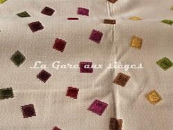 Tissu Deschemaker - Santiago - réf: 103953 - Burlat - Voir en grand