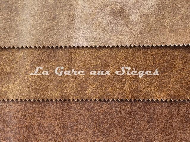 Tissu Casal - Saloon - réf: 5219 - Coloris: 52 Vison - 51 Caramel - 53 Chocolat - Voir en grand