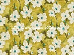Tissu Harlequin - Giverny - réf: 120146 Linden/Turquoise - Voir en grand