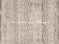 Tissu Pierre Frey - Namibie - réf: F2912-001 Naturel - Voir en grand