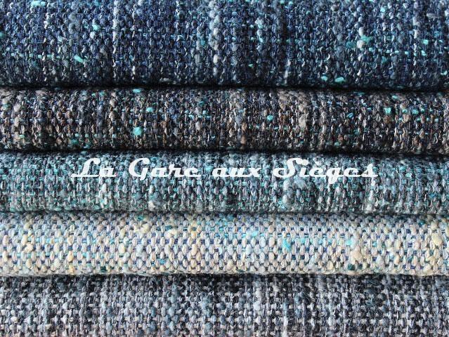 Tissu Dominique Kieffer - Tweed Couleurs - réf: 17224 - Coloris: 06 - 07 - 08 - 09 - 10 - Voir en grand
