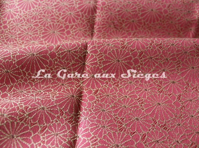 Tissu Jean Paul Gaultier - Obi - réf: 3467-06 Fuchsia - Voir en grand