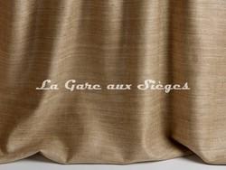 Tissu Pierre Frey - Taffetas Jeanne - réf: F3273-004 Sahara - Voir en grand