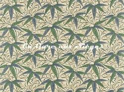 Tissu William Morris - Bamboo - réf: 222526 Thyme/Artichoke - Voir en grand