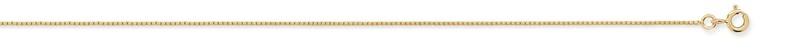 Chaine venitienne or jaune diamantée 45 cm 2.60 grs 298 ¤ - Voir en grand