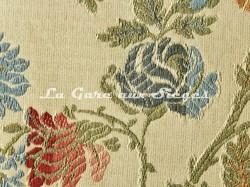 Tissu chanée Ducrocq - Hermitage - réf: 6343 Crème ( détail ) - Voir en grand