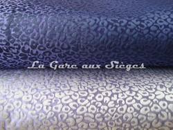 Tissu Osborne & Little - Ocelot - réf: F6531 - Coloris: 06 Electric blue & 07 Lavender - Voir en grand