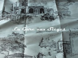 Tissu Rubelli - Toile de Venise - réf: 30122.002 Acqua ( détail ) - Voir en grand