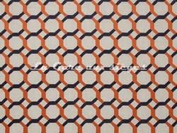 Tissu Clarke & Clarke - Giovanni - réf: F0707-04 Flamingo - Voir en grand