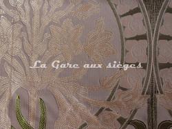 Tissu Verel de Belval - Silènes - réf: 99110-102 Parme - Voir en grand