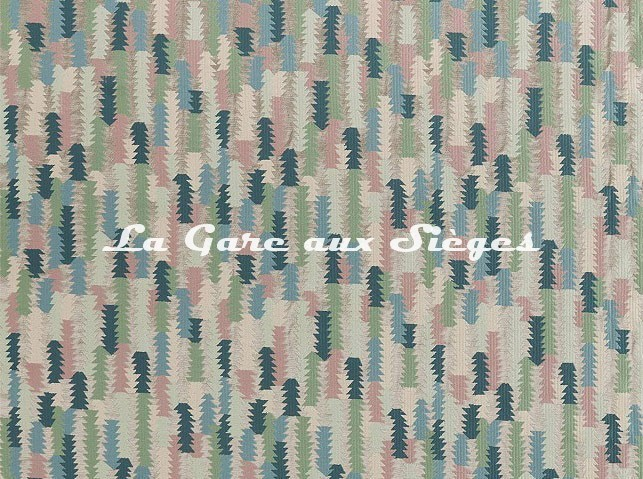 Tissu Zoffany - Cosmati Embroidery - réf: 333083 Modification - Voir en grand