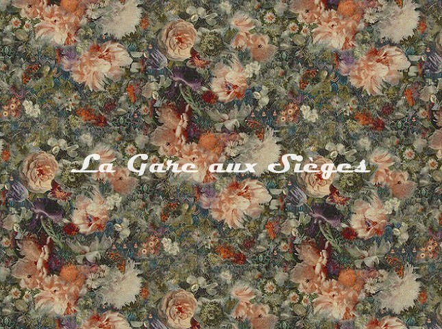 Tissu GP & J.Baker - Royal Garden Linen - réf: BP10643.1 Quartz - Voir en grand