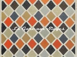 Tissu Jim Thompson - Halisi - réf: J2263/001 Hearth Tones - Voir en grand