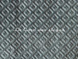 Tissu Chanée Ducrocq - Velours gaufré Matignon - Coloris: 993 Bleu de Sèvres