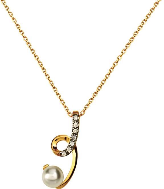 Chaîne pendentif perle imitation702061 77¤ - Voir en grand