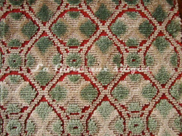 Tissu Nobilis - Velours Combourg - réf: 10530.64 Opaline - Voir en grand
