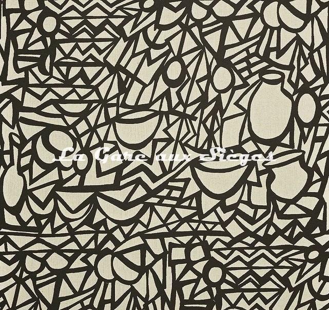 Tissu Pierre Frey - Moucharabieh - réf: F3377.001 ( recto ) - Voir en grand