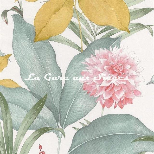 Tissu Camengo - Margaux - réf: 4201.0132 Rose - Voir en grand