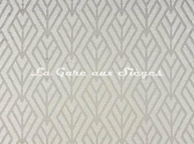Tissu Pierre Frey- Métropolitain - réf: F3099.001 Tourterelle - Voir en grand