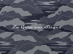 Tissu Lelièvre - Calanques - réf: 4238.04 Nuit - Voir en grand