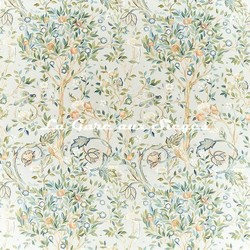 Tissu William Morris - Melsetter - réf: 226600 Grey - Voir en grand
