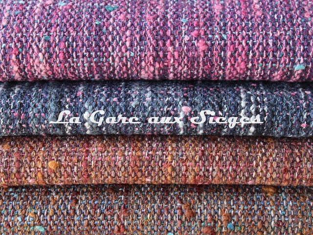 Tissu Dominique Kieffer - Tweed Couleurs - réf: 17224 - Coloris: 11 - 12 - 13 - 14 - Voir en grand
