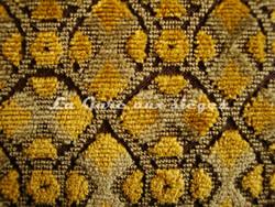 Tissu Nobilis - Velours Combourg - réf: 10530.36 Curry