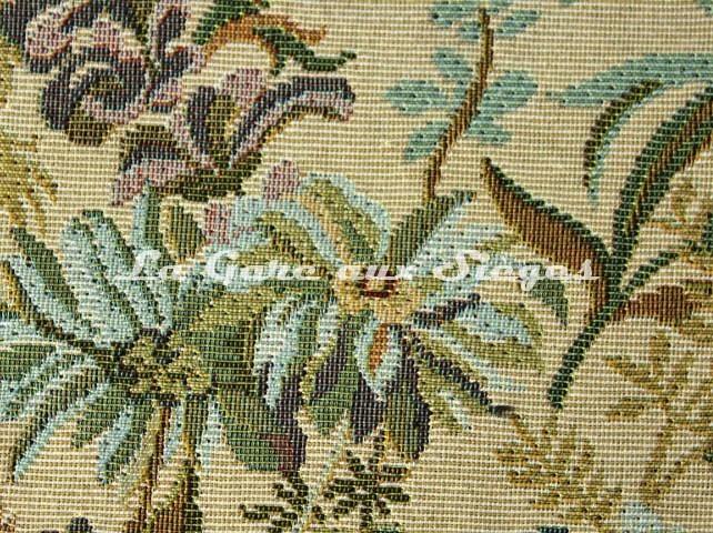 Tissu Chanée Ducrocq - Autun - réf: 6354 Crème ( détail ) - Voir en grand