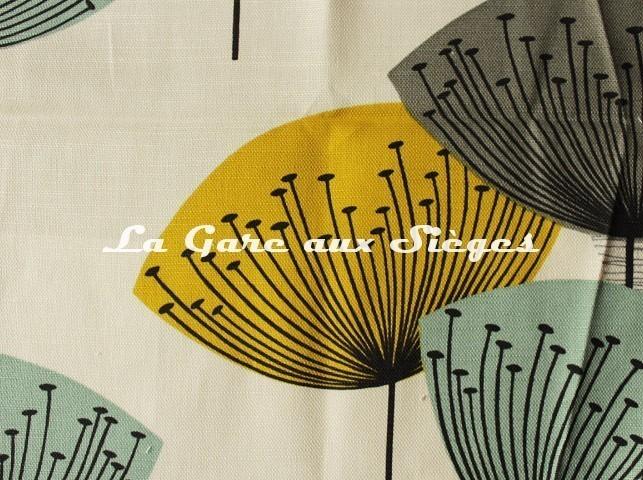 Tissu Sanderson - Dandelion Clocks - réf: DOPNDA204 Chaffinch (détail) - Voir en grand