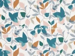 Tissu Scion - Akira - réf: 120751 Ginger/Teal/Olive - Voir en grand