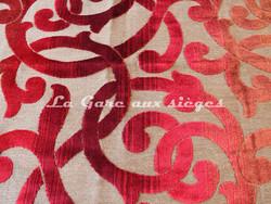Tissu Deschemaker - Mambo - réf: 103534 - Coloris: Rouge - Voir en grand